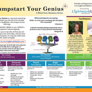 Jumpstart Your Genius
